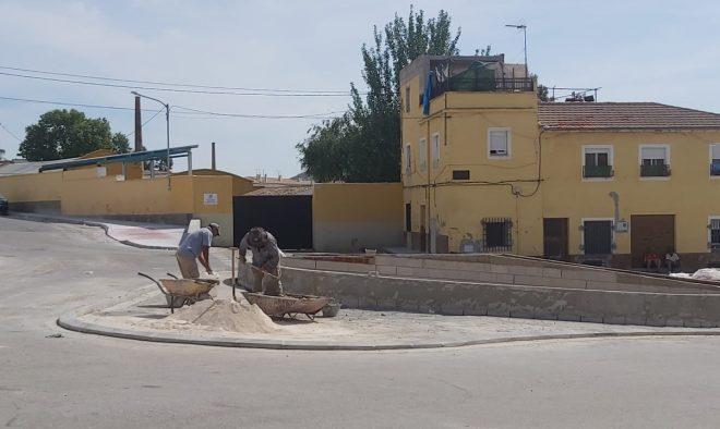 Obras de adecuación y estética funcional en el barrio del Calvario.