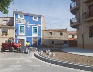 Continúan las obras de adecuación y estética funcional en el barrio del Calvario