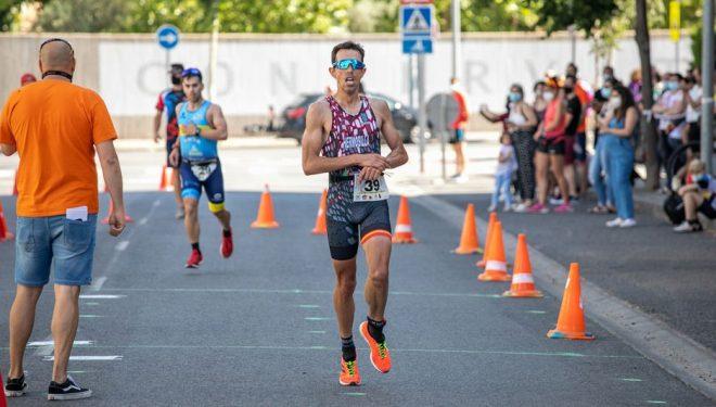 Rafael López Hermosilla, consiguió el segundo puesto en el V Duatlon de Ciudad Real