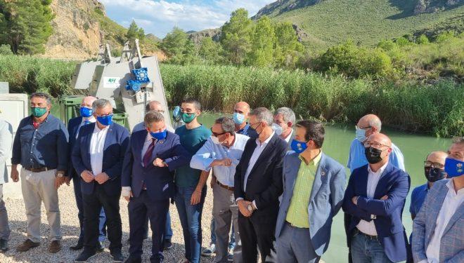 El presidente García-Page inauguró la obra de la SAT 'El Ojeado'