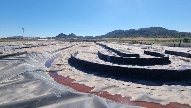 El proyecto SABANA solucionará el problema de depuración de aguas residuales de Agramón, en estado avanzado de ejecución
