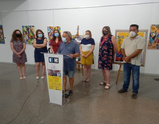 """Abierta la exposición del pintor Félix López """"Vida en Color"""" en el MUSS"""