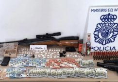 Detenidos en Hellín a seis integrantes de un grupo criminal dedicado a la venta de cocaína