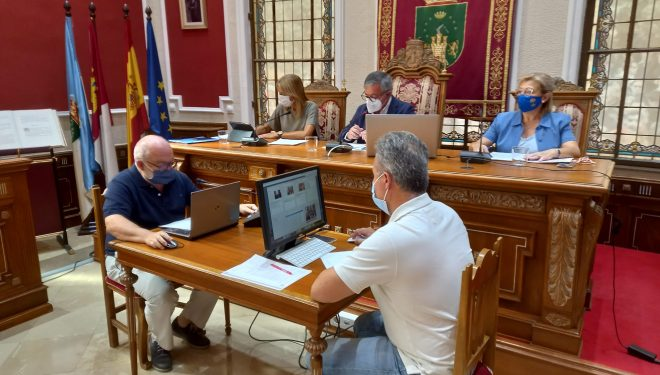 El Pleno aprueba las obras de remodelación de la avenida  de la Libertad y la pedanía de Nava de Campaña
