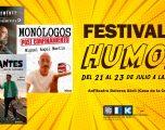 Presentado el Festival del Humor, con la actuación de Goyo Jiménez, Miguel Ángel  Martín y Feriantes de la Comedia