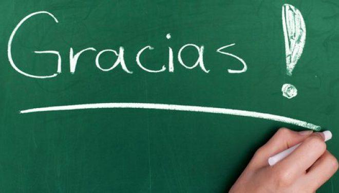 Fin de curso: mil gracias, maestros y profesores