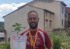 Agustín Gabarrón, se proclamó el pasado fin de semana subcampeón en una de las pruebas del Nacional de Orientabike
