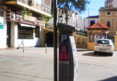 Hoy entra en funcionamiento el pago del aparcamiento por móvil en Hellín