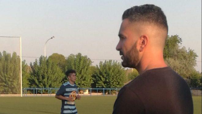 Ignacio Villalgordo entrenador del Hellín Juvenil