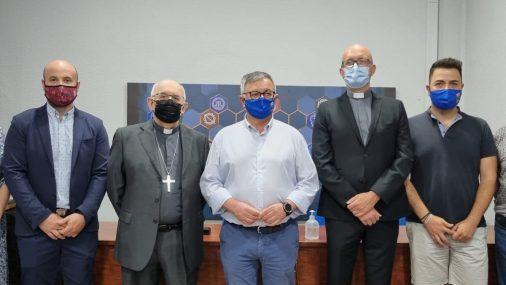 Inaugurada la remodelada sede de la Asociación de Hermandades y Cofradias de la Semana Santa de Hellín