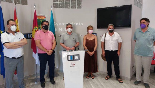 Frente común entre el Ayuntamiento de Hellín, UGT y CC.OO, para evitar el cierre por cuatro años de la línea Chinchilla-Cartagena