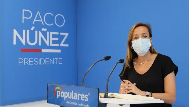 """Carmen Navarro afirma que el tiempo de Page se ha agotado: """"El PP de Paco Núñez está preparado para gobernar esta tierra de la mano de la sociedad civil"""""""