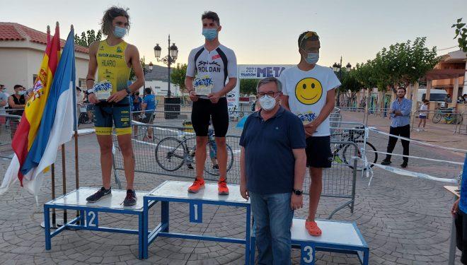 """El corredor cóquense, Alberto Roldán, ganador del XVII Triatlón """"Valle de Agramón"""", con récord de participación"""