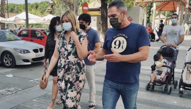 """Carmen Picazo se opone a la suspensión del tren Cartagena-Chinchilla: """"La lucha por la igualdad empieza en nuestros pueblos"""""""