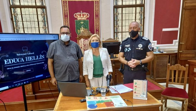Educa Hellín mostrará el patrimonio cultural de la ciudad a los escolares durante el curso escolar 2021-22