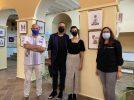 """Inaugurada la exposición itinerante de collages """"Albacete recorta"""""""