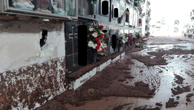 El PP pide la urgente solución a los problemas de inundación que sufre el Cementerio Municipal