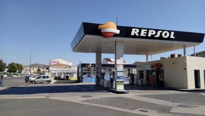Atraco a mano armada en una gasolinera ubicada en la carretera de Jaén a la salida de Hellín