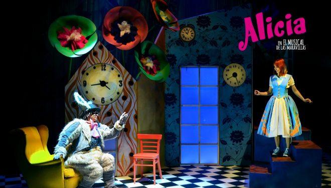 Llega al Teatro Victoria Alicia en el Musical de las Maravillas