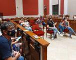 Reunión de trabajo del equipo de Gobierno municipal y las asociaciones de vecinos del municipio