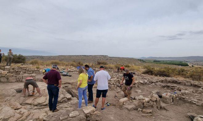 Visita las nuevas excavaciones del Parque arqueológico del Tolmo de Minateda.