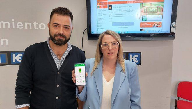 El Ayuntamiento implanta un nuevo servicio de comunicación de incidencias a través de app móvil